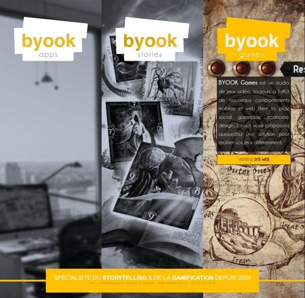 Byook - Nouvelle expérience de lecture