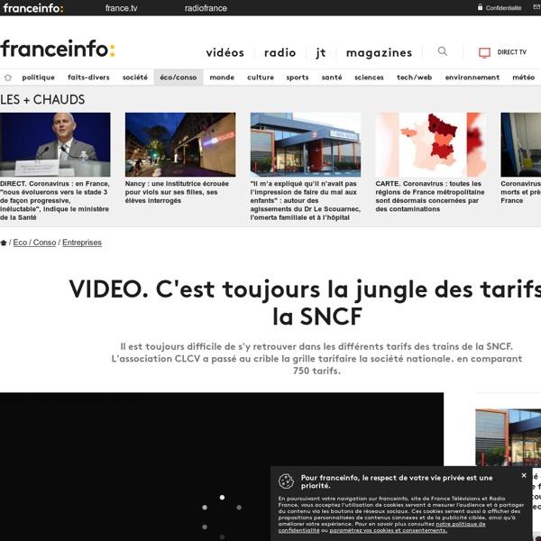 C'est toujours la jungle des tarifs à la SNCF