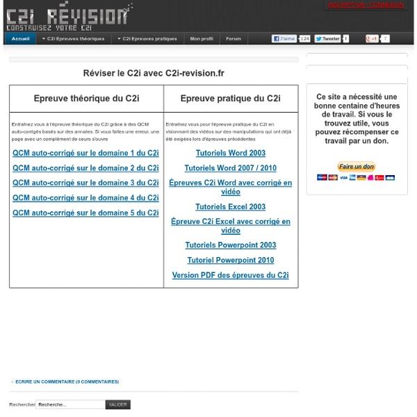 C2i-revision.fr