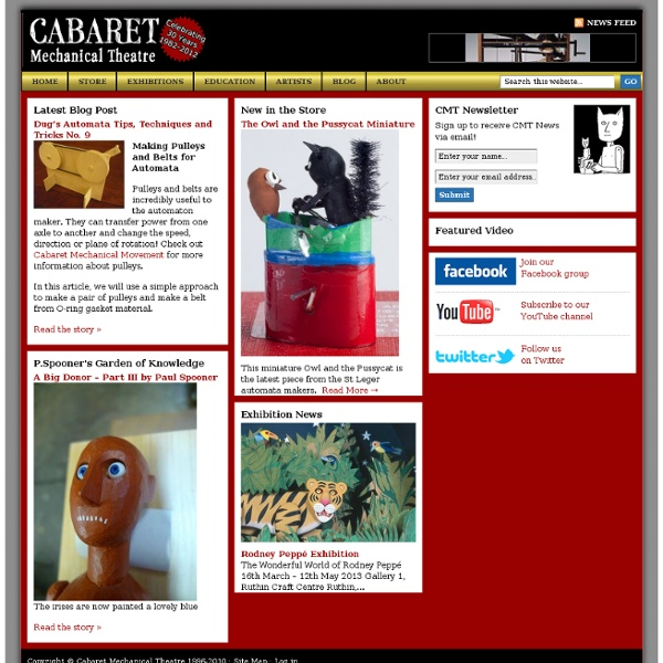 Cabaret Mechanical Theatre