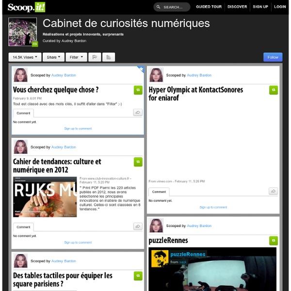Cabinet de curiosités numériques