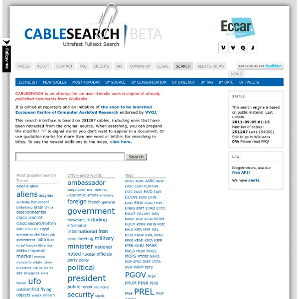 Cable Search BETA