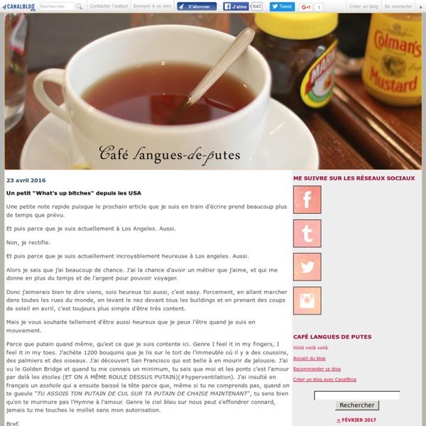 Café langues de putes