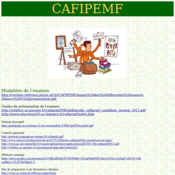 CAFIPEMF