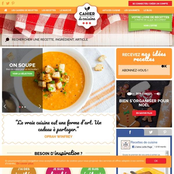 Cahier de Cuisine : livre de recettes, recettes de cuisine économiques