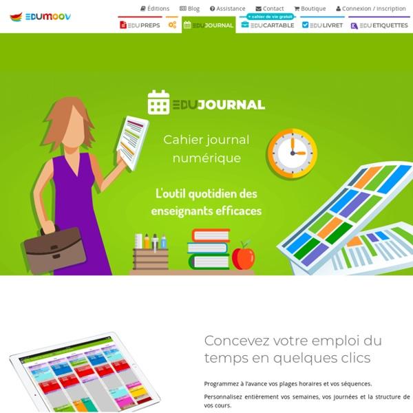 Le cahier-journal numérique