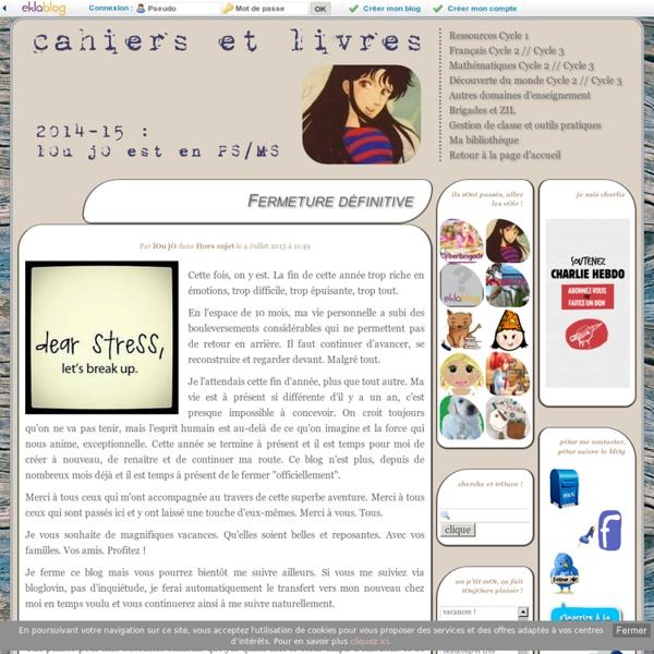 Cahiers et Livres -