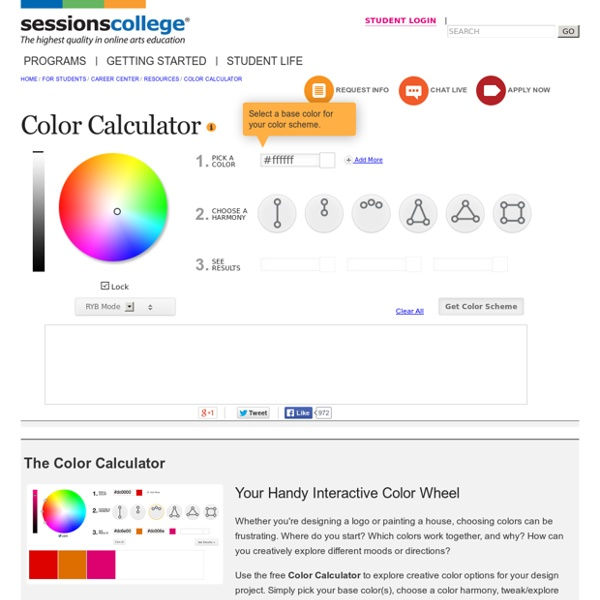 Color Wheel - Color Calculator