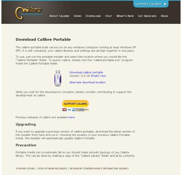 Download Calibre Portable