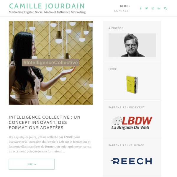 Social Media / Community Management / Emarketing - Le blog de Camille Jourdain