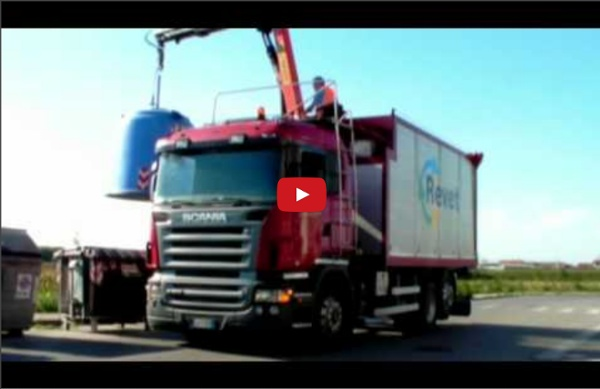 Camion Modus raccolta vetro