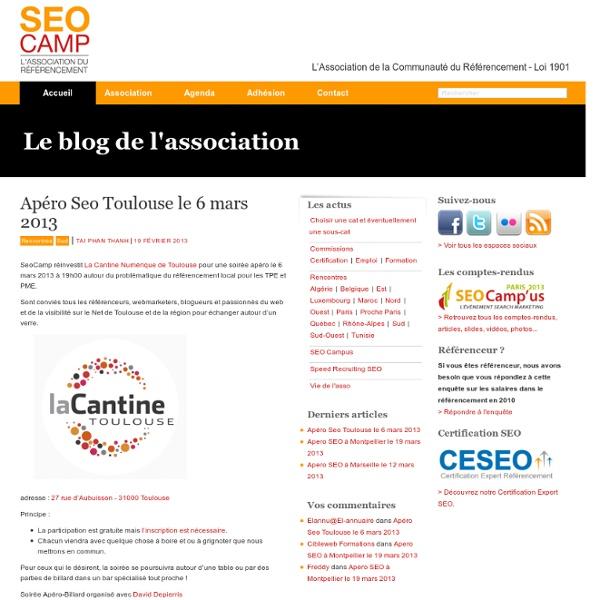 SEO Camp - L'association des référenceurs