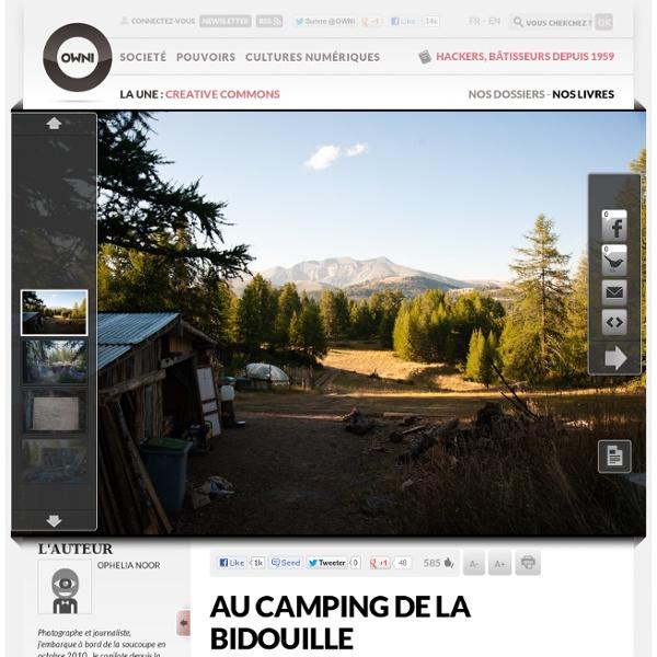 Au camping de la bidouille