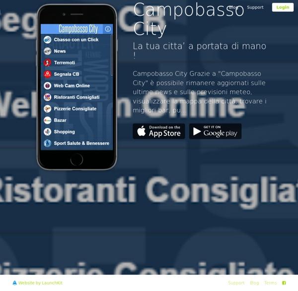 Scarica App Campobasso City - La tua citta' a portata di mano !
