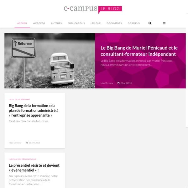 C-Campus - Le blog de la formation en entreprise !