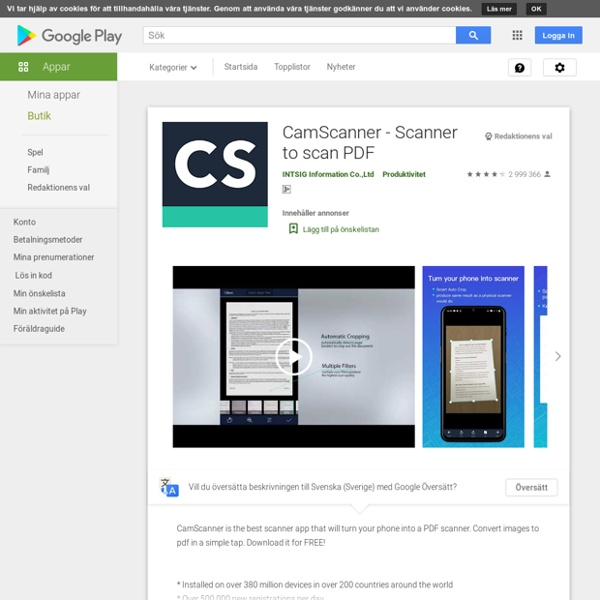 CamScanner -Phone PDF Creator - Apps on Android Market