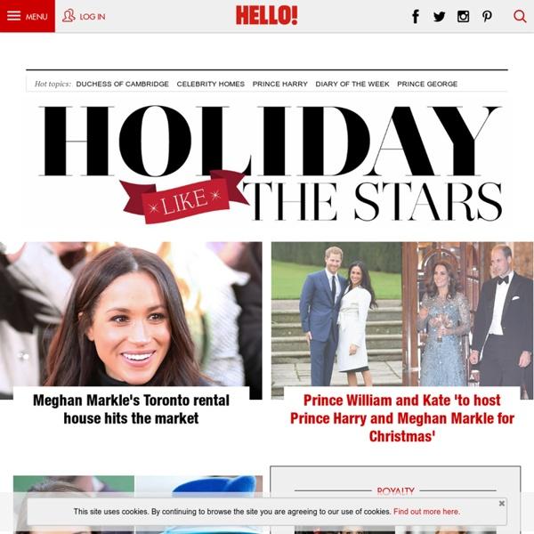 HELLO! Online: celebrity & royal news, magazine, babies, weddings, style