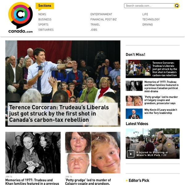 Canada's great, shareable stories