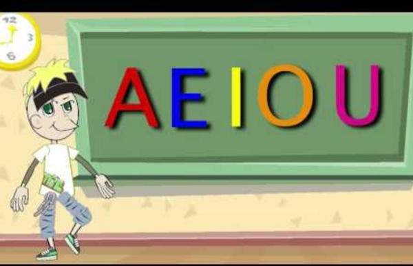 La Canción de las Vocales - A E I O U - Educación Infantil - Pre-escolar - #