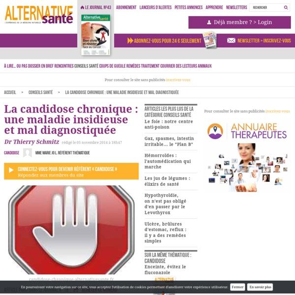 La candidose chronique : une maladie insidieuse et mal diagnostiquée