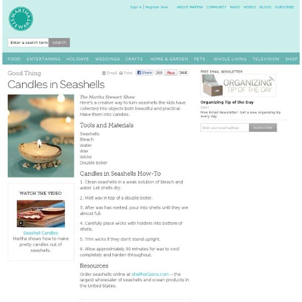 Martha Stewart Crafts - StumbleUpon