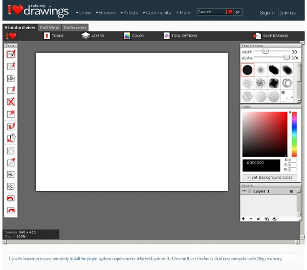 CanvasDraw HTML5 drawing app
