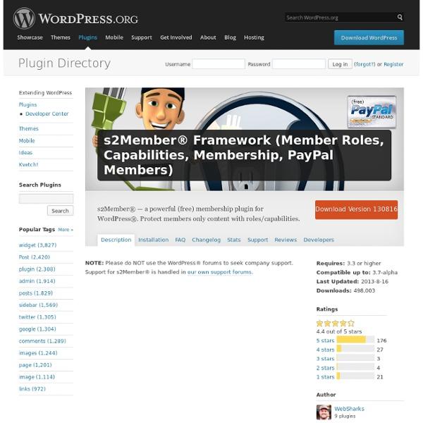 s2Member® ( Membership w/ PayPal® )