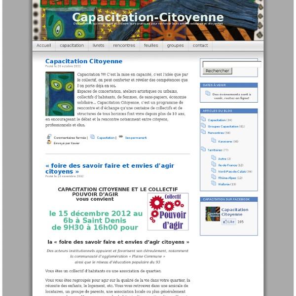 Capacitation-Citoyenne