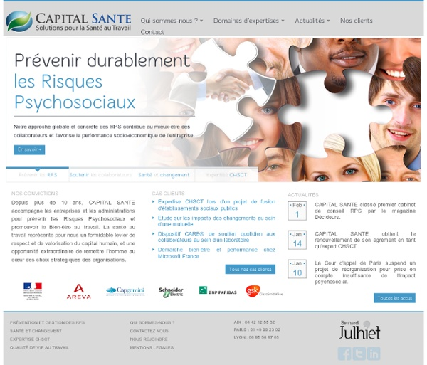 Stress Lab, questionnaires d'évaluation, Karasek, Siegrist - CAPITAL SANTE