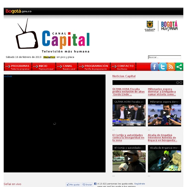 Canal Capital. Televisión más humana