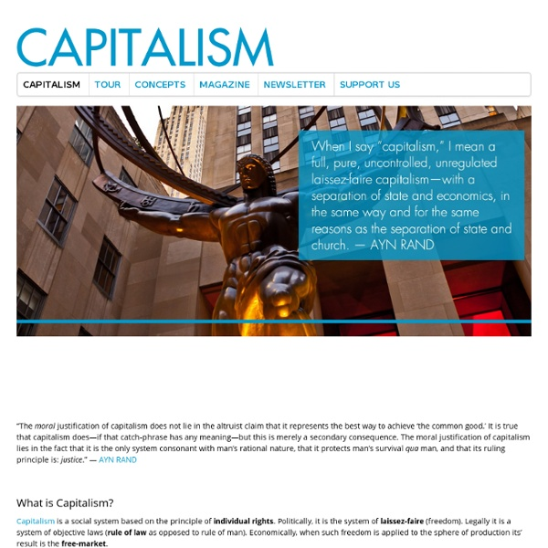 capitalism and its relationship to individual rights