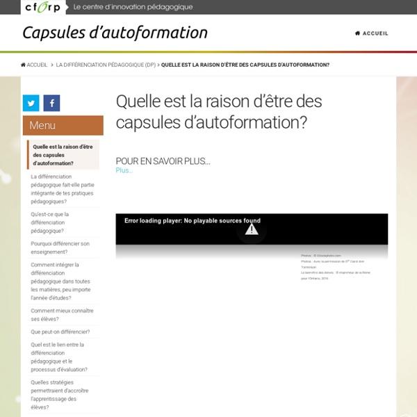 Quelle est la raison d'être des capsules d'autoformation? - Formapro - Autoformation