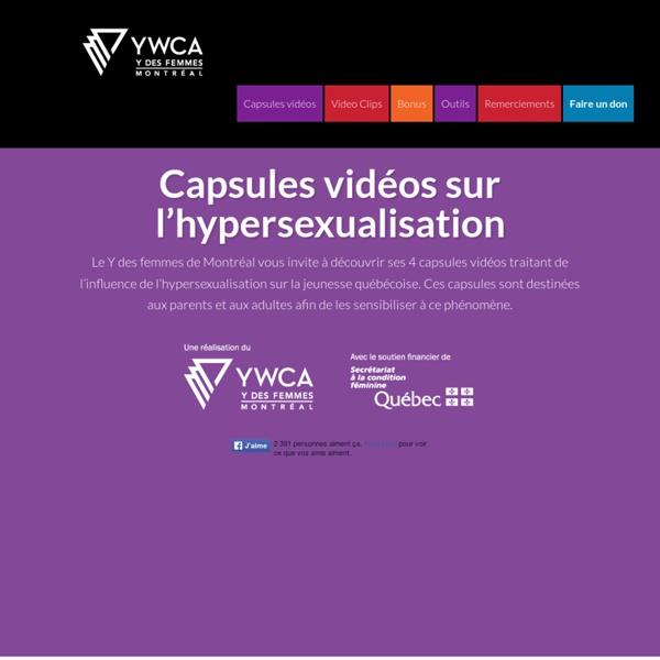 Capsules vidéos sur l'hypersexualisation –