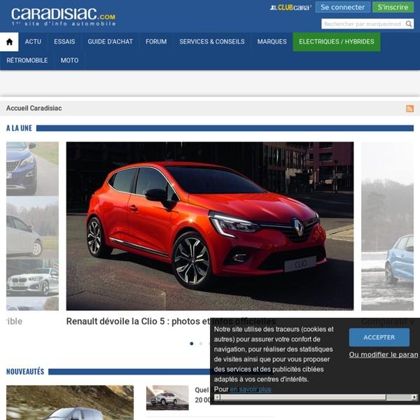 Caradisiac - 1er site d'info automobile : essais, nouveautés, guides d'achat auto