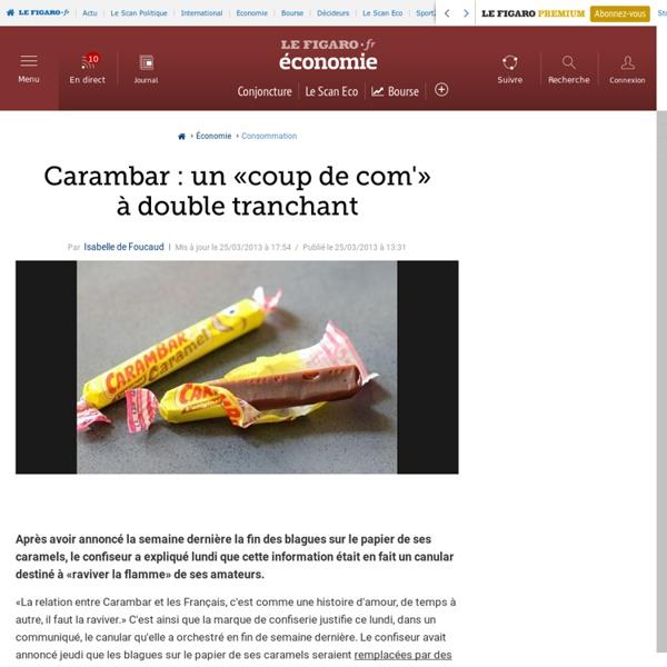 Carambar : un «coup de com'» à double tranchant