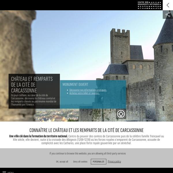 Château et remparts de la cité de Carcassonne - Centre des monuments nationaux
