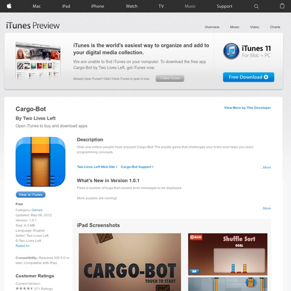 Cargo-Bot on the App Store