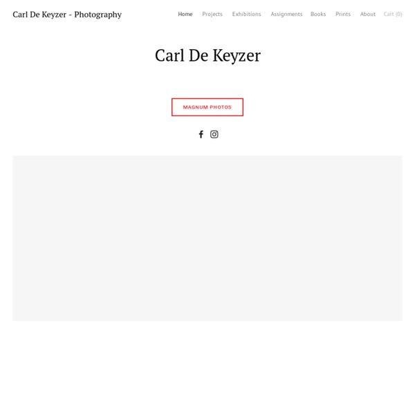 Carl de Keyzer Photography