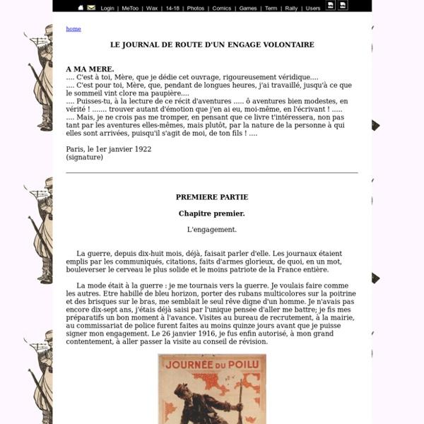 Carnet de guerre 14-18 André Cambounet
