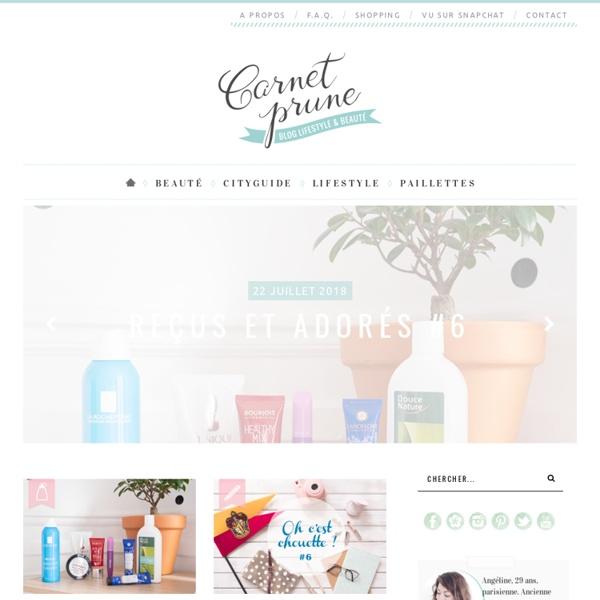 Carnet Prune⎪Blog beauté & lifestyle