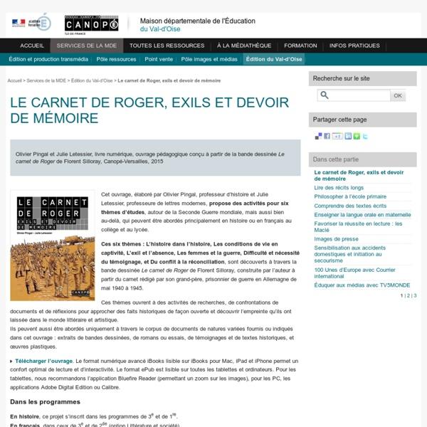 Le carnet de Roger, exils et devoir de mémoire
