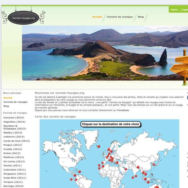 Carnets et photos de voyages autour du monde - Carnets-Voyages.org