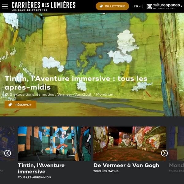 Carrières de Lumières - Site officiel - gérées par Culturespaces