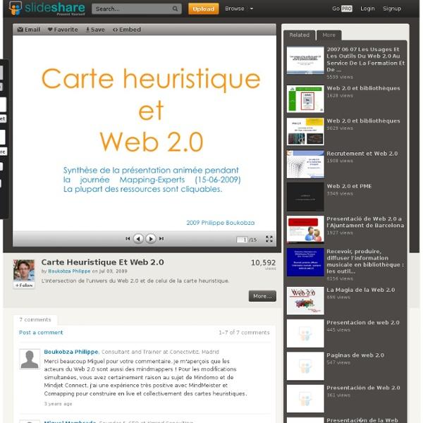 Carte Heuristique Et Web 2.0
