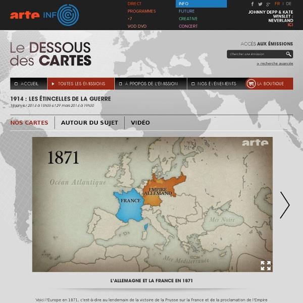 1914 : LES ÉTINCELLES DE LA GUERRE
