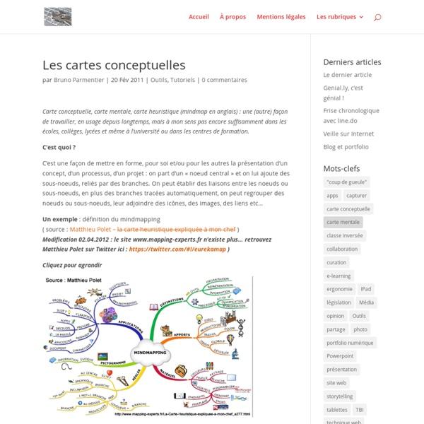 Les cartes conceptuelles