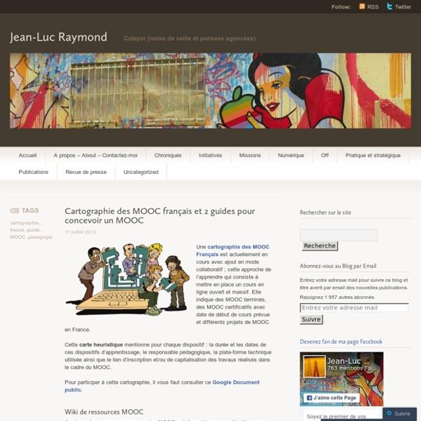 Cartographie des MOOC français et 2 guides pour concevoir un MOOC