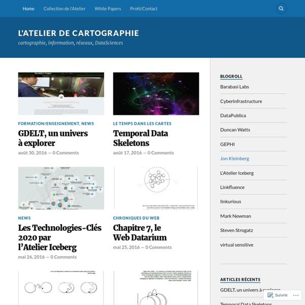 Cartographie, information, réseaux