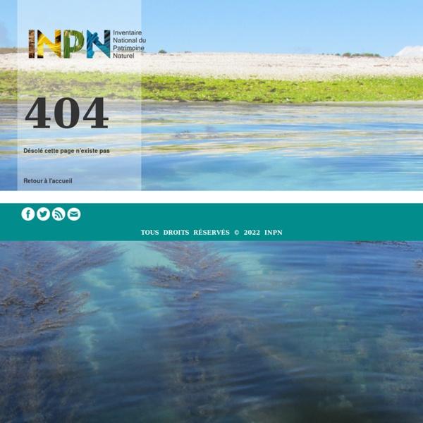 Cartographie : Espaces protégés (métropole)