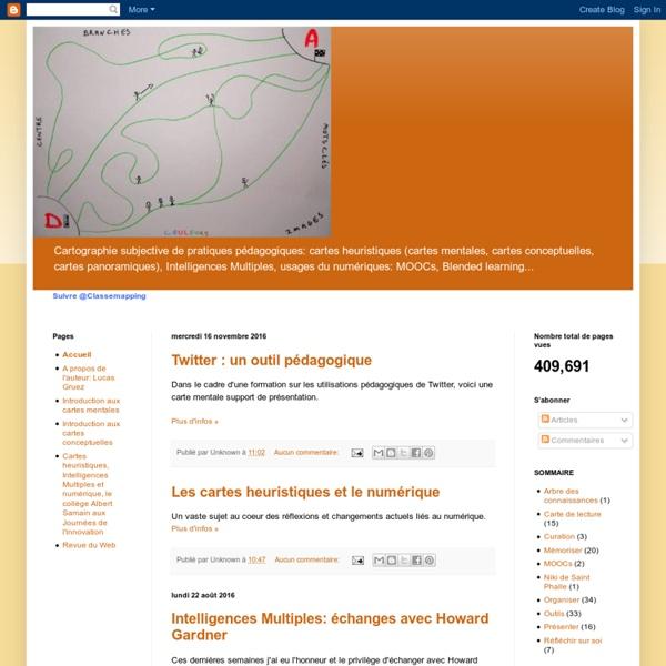 Cartographie subjective de pratiques pédagogiques